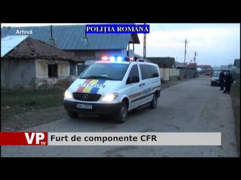 Furt de componente CFR