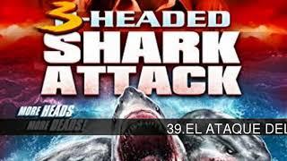 TOP 58 Películas de tiburones