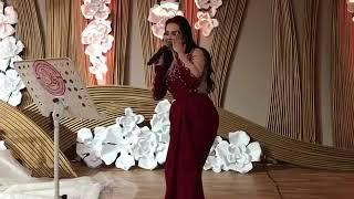 حفل زفاف العسيري و العلي الكرام في قاعات شيراتون الدفنه الدوحة مع الفنانه المتألقة ديانا كرزون