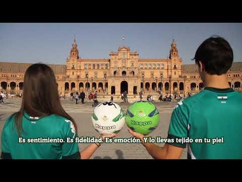 Video Edición Especial de la Camiseta del Real Betis Balompié
