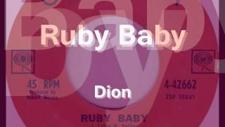 Ruby Baby - Dion - 1963
