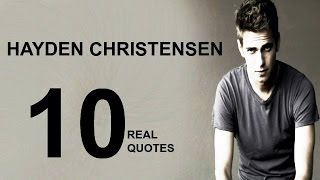 Hayden Christensen 10 Real Life Quotes on Success | Inspiring | Motivational Quotes