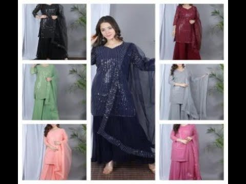 Georgette Sequence Suits