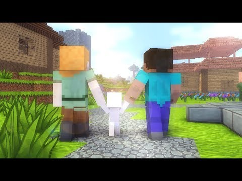 Download Steve Life 1-7  - Minecraft animation HD Mp4 3GP Video and MP3