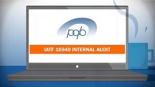 Online course IATF 16949 internal audit