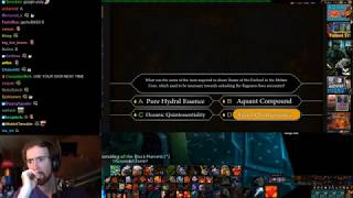 Asmongold Takes The WoW Quiz: Season 1 - Who Wants To Be The Ultimate WoW Neckbeard?