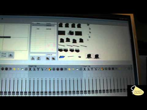 DMX Sound Active Mode - Chauvet Show Xpress DMX Software Part 2.wmv