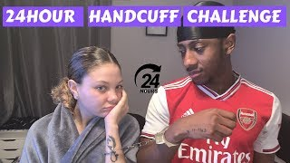 HANDCUFFED TO MY GIRLFRIEND FOR 24 HOURS!! | *painful*