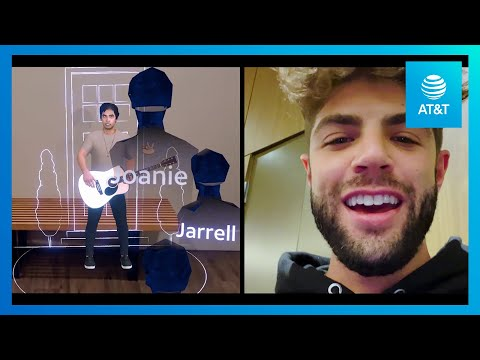 AT&T, Ericsson Deliver 3D, Interactive Live Musical Performance-youtubevideotext