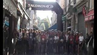 preview picture of video 'Ubaye Trail Salomon 2009 - Départ rue Manuel - Barcelonnette'