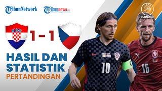 Highlight & Hasil Pertandingan Euro 2020 Kroasia 1-1 Republik Ceko: Dejan Lovren Sempat Blunder