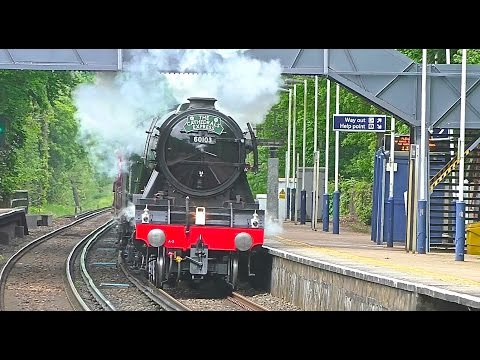 60103 'Flying Scotsman' - Steam Tour of Surrey 25th May 2016…