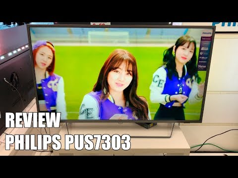 Review Philips PUS7303 Nueva Television 4K UHD HDR Ambilight Android TV 2018