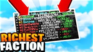 Becoming Number 1 Faction (1 BILLION DOLLARS) | Minecraft Factions #868