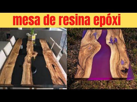 MESA de RESINA EPXI - APRENDA a TRABALHAR com RESINA EPXI! - MESAS DE RESINAS EPOXI