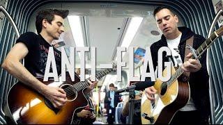 "Anti-Flag ""Brandenburg Gate"" - A Red Trolley Show (live performance)"