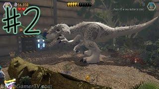 Ethan plays LEGO: Jurassic World (#2) | KID GAMING