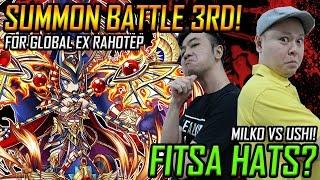 FITSA HATS Summon Battle Ushi Vs Milko For Food Or Is It Rahotep
