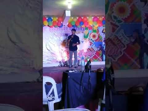 Reneboy Dayham Salan ¹st Place in Singing Contest @ Maanas Sept. 14, 2019