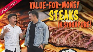 Value-For-Money Steaks in Singapore   Eatbook Food Guides   EP 26