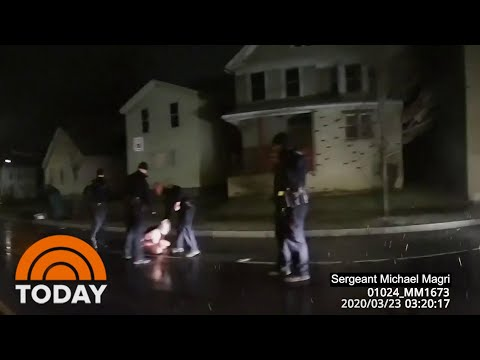 Video Shows Black Man Who Died After Arrest In Rochester, New York | TODAY