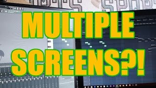 How To Use Multiple Screens In FL Studio