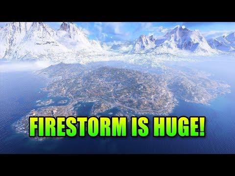 Firestorm Map Is Huge! & Road Map Friday | Battlefield V Halvoy