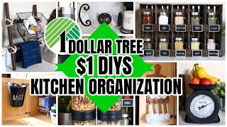 DOLLAR TREE KITCHENS ORGANIZATION DIYS $1 PROJECTS THAT WILL BLOW YOUR MIND