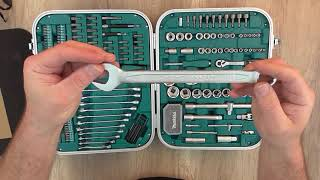 Unboxing Makita P-90532 227 Piece Mechanics Tool Set Home Repair Kit - Bob The Tool Man
