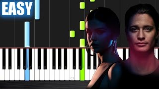 Kygo, Selena Gomez - It Ain't Me - EASY Piano Tutorial by PlutaX