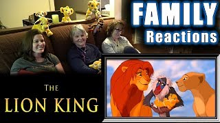 The Lion King   FAMILY Reactions   Fair Use