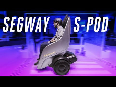Segway S-Pod brings Wall-E to real life