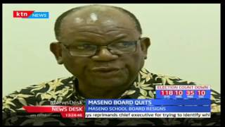 Maseno School Board of Management quits in protest of Principal Otula's indictment by TSC