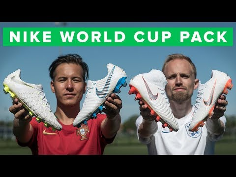 NIKE JUST DO IT WORLD CUP FOOTBALL BOOTS - sick new white pack