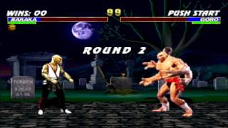 Baraka vs Goro Double Flawless HD