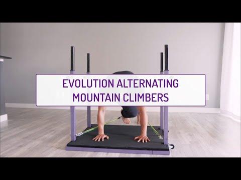 Evolution Alternating Mountain Climbers