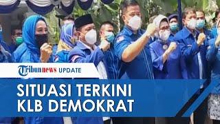 Situasi Terkini KLB Partai Demokrat di Sibolangit, Ada Kader dari DPD yang Serukan 'Tolak Moeldoko'