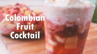 Colombian Fruit Cocktail (Salpicón De Frutas) | Recipe