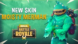 Moisty Merman! New Skin - Fortnite Battle Royale Gameplay - Ninja