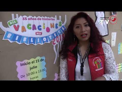 BIBLIOTECA AMOXTLATILOYAN INICIA CURSOS DE VERANO