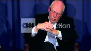DICK CHENEY-SURPRISED BY DAUGHTERS' PUBLIC SPAT