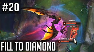 League of Legends Fill to Diamond but these promos decide if we're hardstuck or not