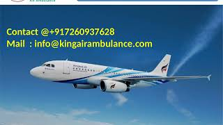 Get Best and Fast Air Ambulance Service in Allahabad and Gorakhpur by King