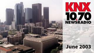 KNX 1070 Newsradio Aircheck (2003)