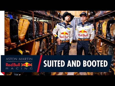 Wearing our best bib and tucker | Daniel Ricciardo and Max Verstappen are set for the US Grand Prix