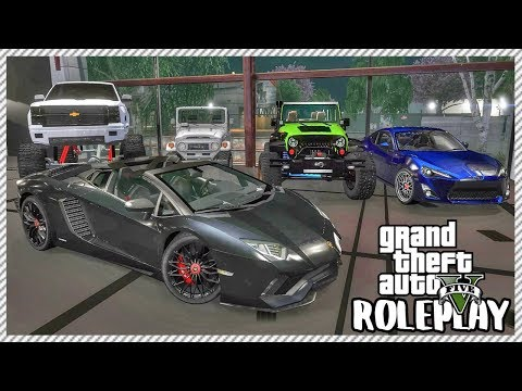 GTA 5 ROLEPLAY - Redline Is Open! Buying & Selling Cars | Ep. 455 Civ
