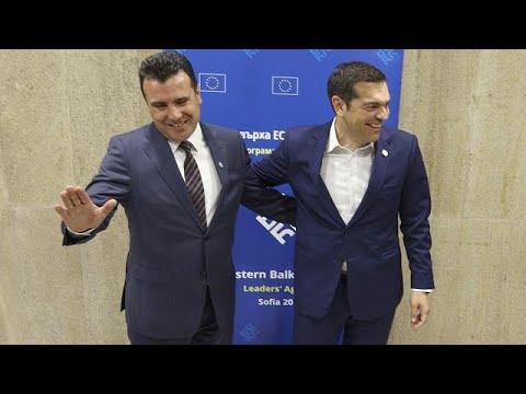 ΕΕ και ΝΑΤΟ χαιρετίζουν τη συμφωνία Τσίπρα-Ζάεφ