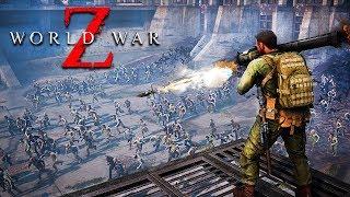 ZOMBIE SURVIVAL GAME!! (World War Z)