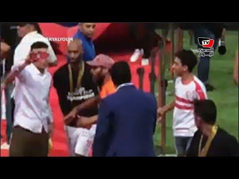 شيكابالا يبكي عقب تتويج الزمالك بـ«كأس مصر»