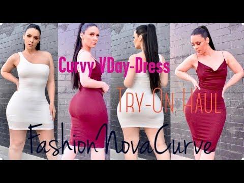 Valentine's Day Dress Ideas | FashionNovaCurve x Viktoria Kay